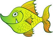Weird yellow fish