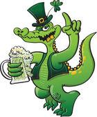 Saint Patrick's crocodile