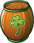 Saint Patrick's Day Barrel Beer
