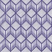 Geometric pattern of cubes