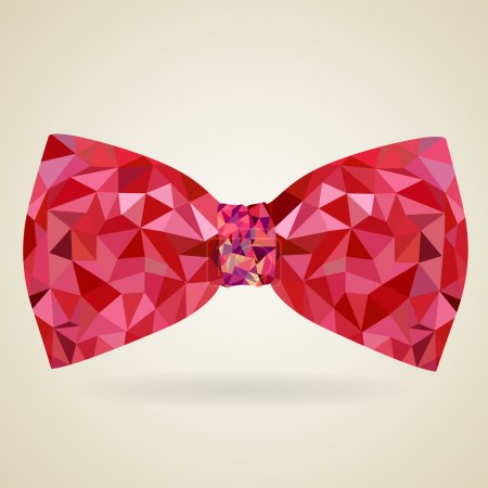 Illustration for Abstract bow tie - Royalty Free Image