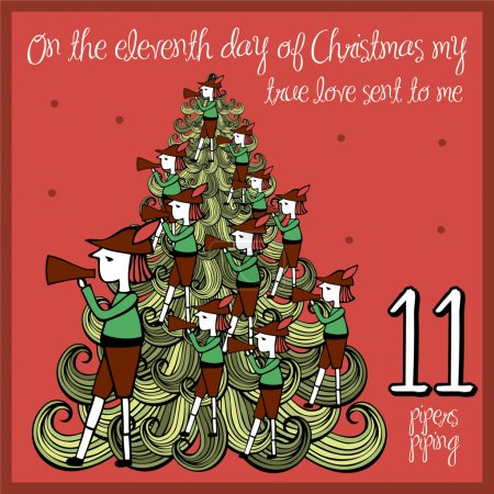 The 12 days of christmas - eleventh day - eleven p...