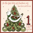 The 12 days of christmas - first day - a partridge...
