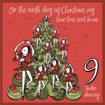 The 12 days of christmas - ninth day - nine ladies...