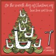 The 12 days of christmas - seventh day - seven swa...