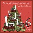 The 12 days of christmas - sixth day - six geese a...