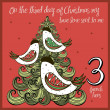 The 12 days of christmas - third day - three frenc...