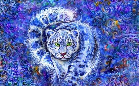 The snow leopard is a symbol of Kazakhstan