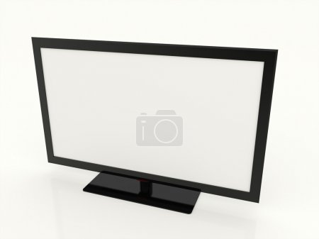 Led tv white screen