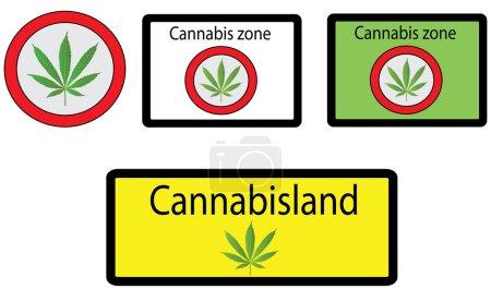 Cannabis signs