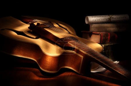 Photo for Jazz guitar - Royalty Free Image