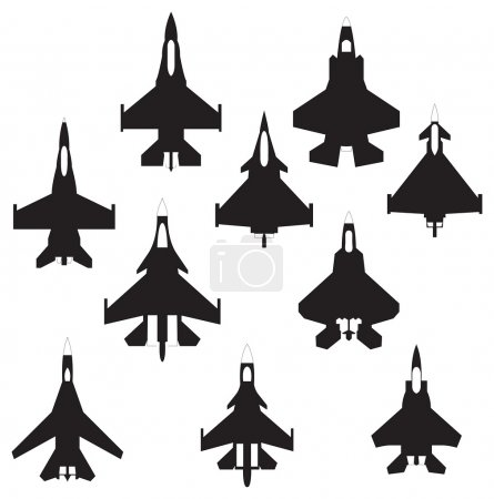 Fighter airplanes