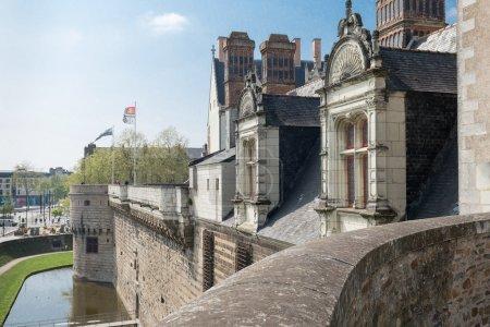 Breton castle. Nantes, France