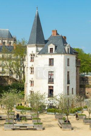 Breton castle, Nantes, France