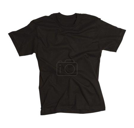 Wrinkled Black Shirt