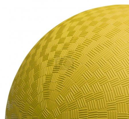 Желтый Мяч Крупным Планом