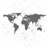 world map vector illustration for communication