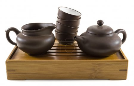 Dishes for chinese tea ceremony