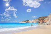 """Постер, картина, фотообои """"Пляж Порто Кацики"""""""