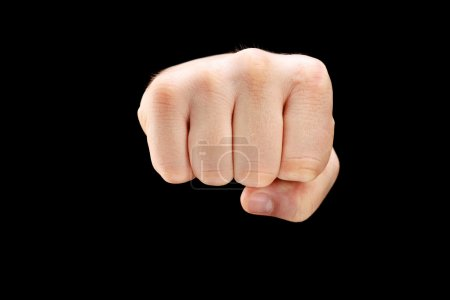 Male punch fist