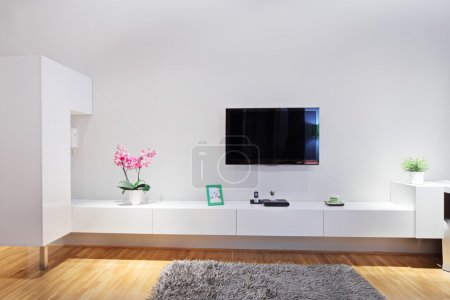 Photo for Shot of a modern minimal living room - Royalty Free Image