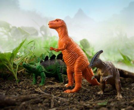 Jungle Dinosaurs