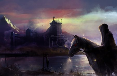 Black horseman castle.
