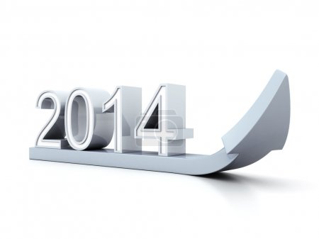 2014 numbers pointing up