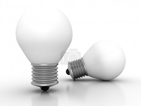 Two light bulbs