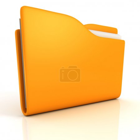 Computer yellow folder icon