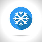Vector blue snowflake icon Eps10