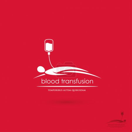 Blood transfusion symbol
