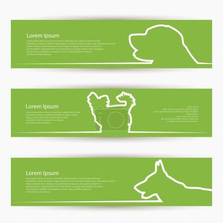 Dog banners