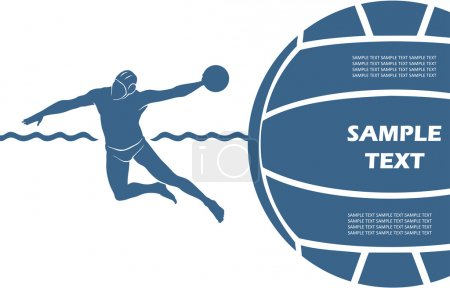Water polo background