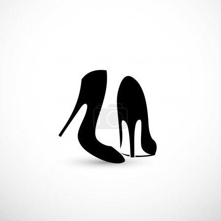 Women shoes with high heels