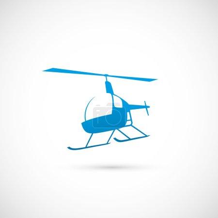 Illustration for Helicopter  illustration - Royalty Free Image