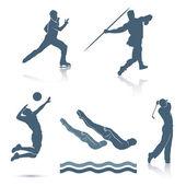 Set of sport disciplines