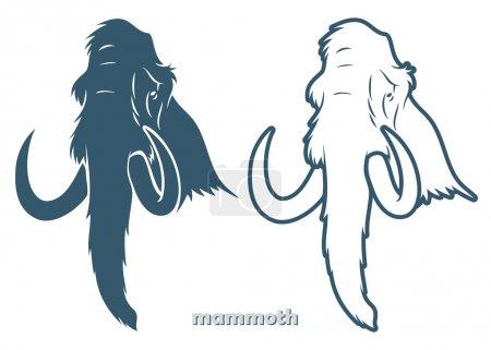 Mammoth  illustration...