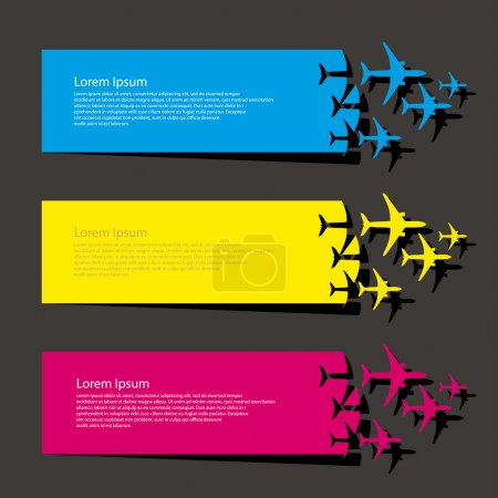 Airplanes banners
