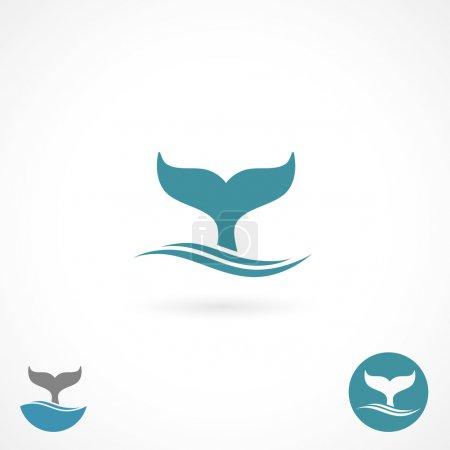 Whale label