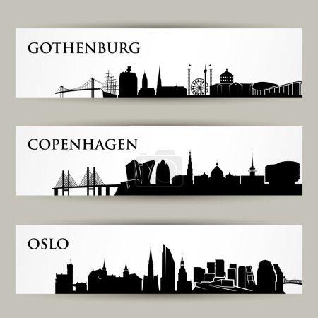Nordic cities skylines