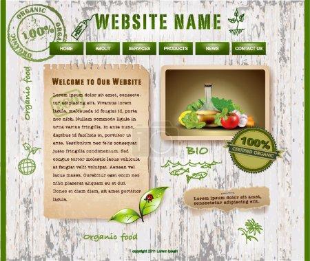 Website Design, Ecological Theme