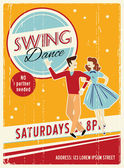 Retro Swing Dancing - Retro Clip Art