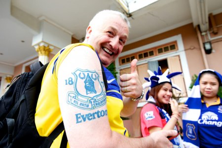Fan of Everton