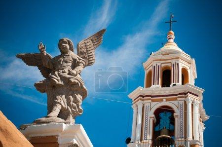 Foto de Un ángel en la iglesia de Cholula - Imagen libre de derechos
