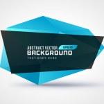 Abstract geometric 3d shape color vector backgroun...