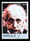 Albert einstein poštovní známka