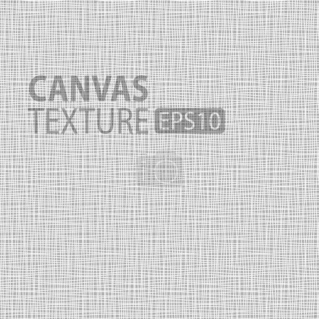 Illustration for Canvas texture, vector illustration  for your design - Royalty Free Image
