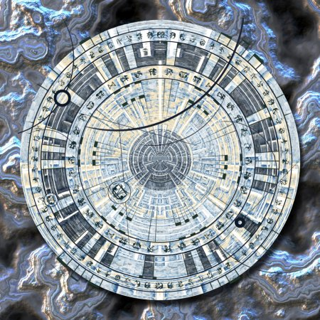 Photo for Astrological disc - Royalty Free Image