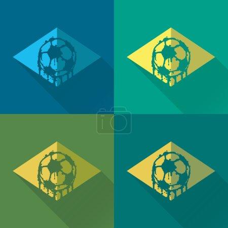 Brasil logo and signs